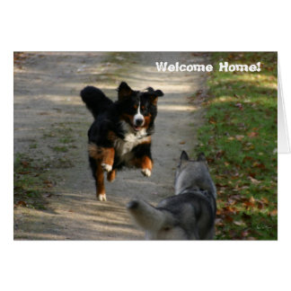Welcome Home Card - The Reunion