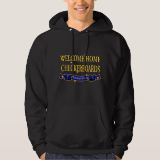 Welcome Home Checkerboards Hoodie