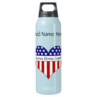 Welcome Home Coastie! Insulated Water Bottle