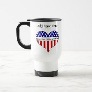 Welcome Home Coastie! Travel Mug