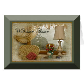 WELCOME HOME - Cottage Warmth Card