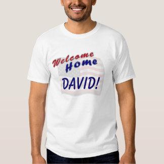 Welcome Home Custom Name T Shirt