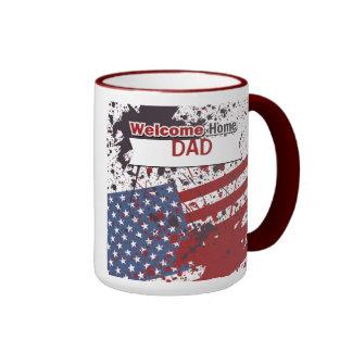 Welcome Home Dad, Military Coffee Mug