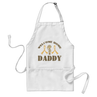 Welcome Home Daddy Aprons