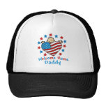 Welcome Home Daddy Baby Heart Trucker Hat
