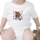 Welcome Home Daddy Bear Baby Bodysuit