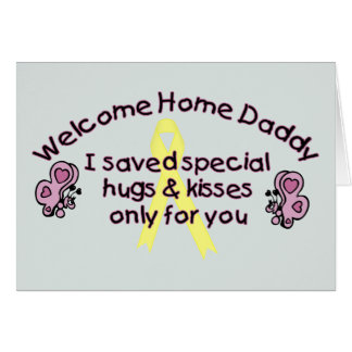 Welcome Home Daddy Card