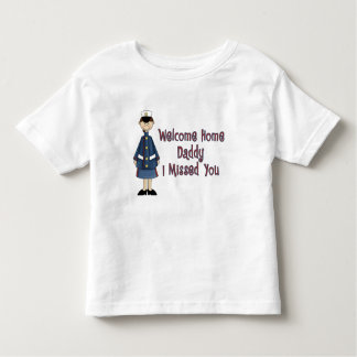 Welcome Home Daddy Corpsman Brat (Daughter) Toddler T-shirt