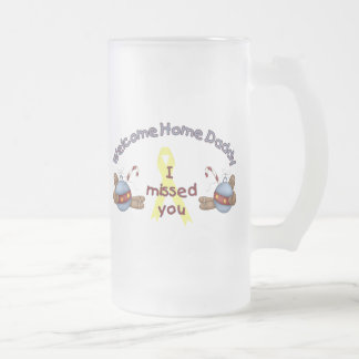 Welcome Home Daddy (I Missed You) Coffee Mugs