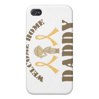Welcome Home Daddy iPhone 4/4S Case