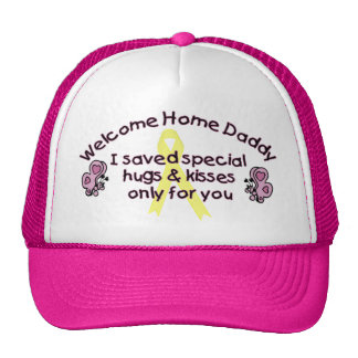 Welcome Home Daddy Trucker Hat