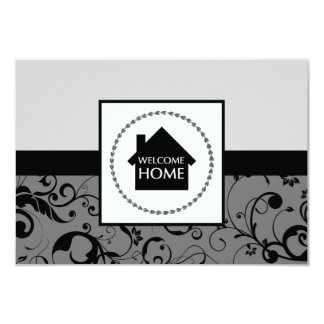 welcome home damask card