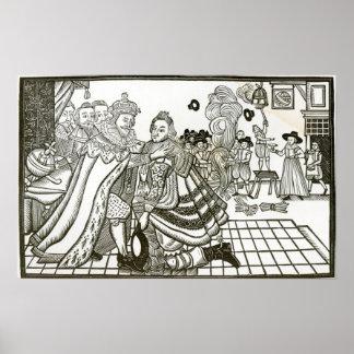 Welcome Home de príncipe Charles de España, 1623 Póster
