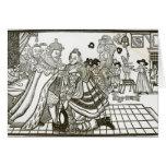 Welcome Home de príncipe Charles de España, 1623 Tarjeton