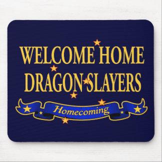 Welcome Home Dragon Slayers Mouse Pad