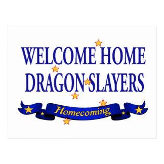 Welcome Home Dragon Slayers Postcard
