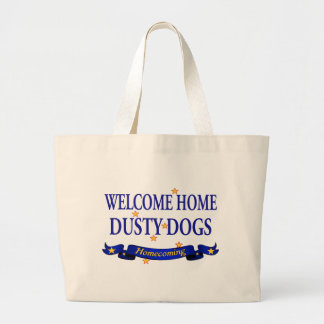 Welcome Home Dusty Dogs Large Tote Bag
