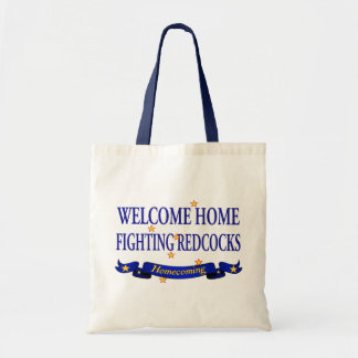 Welcome Home Fighting Redcocks Bags