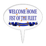 Welcome Home Fist of the Fleet Cake Picks