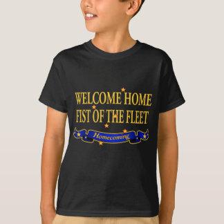 Welcome Home Fist of the Fleet T-Shirt