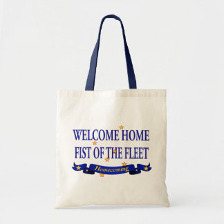 Welcome Home Fist of the Fleet Tote Bag