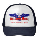 Welcome Home From The Military hat