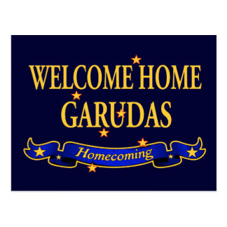 Welcome Home Garudas Postcard