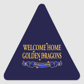 Welcome Home Golden Dragons Sticker