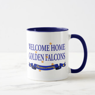 Welcome Home Golden Falcons Mug