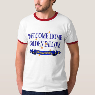Welcome Home Golden Falcons Tee Shirts