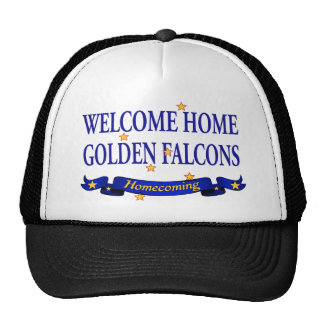 Welcome Home Golden Falcons Trucker Hat
