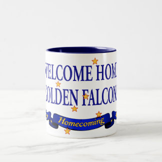 Welcome Home Golden Falcons Two-Tone Coffee Mug