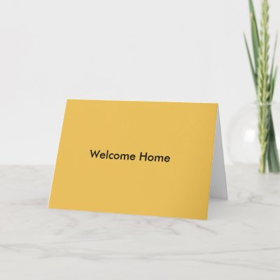 Army welcome home soldier greeting card zazzle m4hsunfo