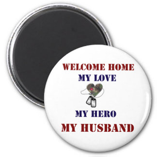 Welcome Home Heart Magnet