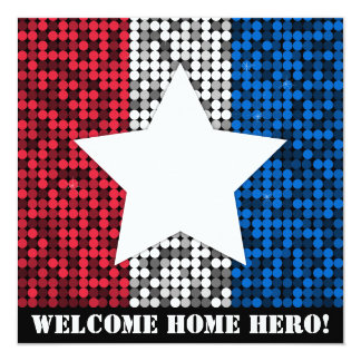 """Welcome Home Hero"" Invitation"