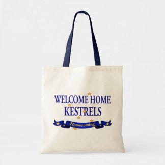 Welcome Home Kestrels Tote Bag