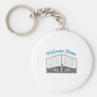 Welcome Home Key Chain