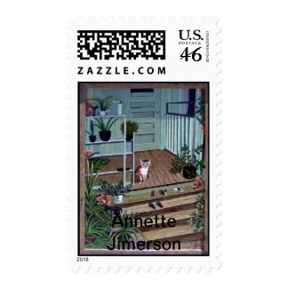 Welcome Home Kitty Postage