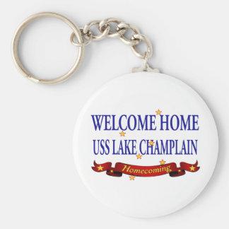Welcome Home Lake Champlain Keychain