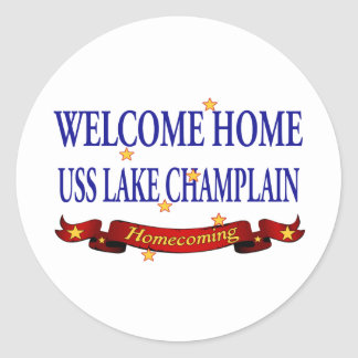 Welcome Home Lake Champlain Sticker