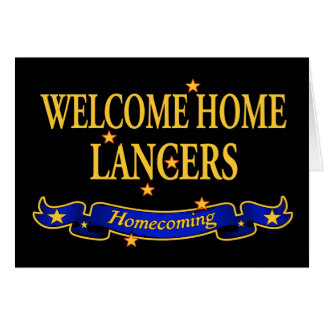 Welcome Home Lancers Card