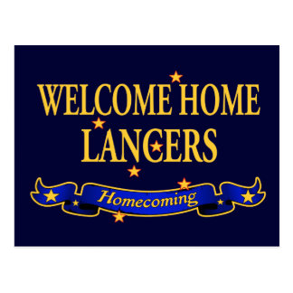 Welcome Home Lancers Postcard