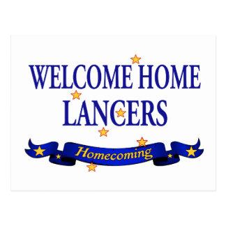 Welcome Home Lancers Postcard