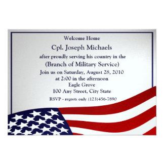 Welcome Home Military Custom Invite