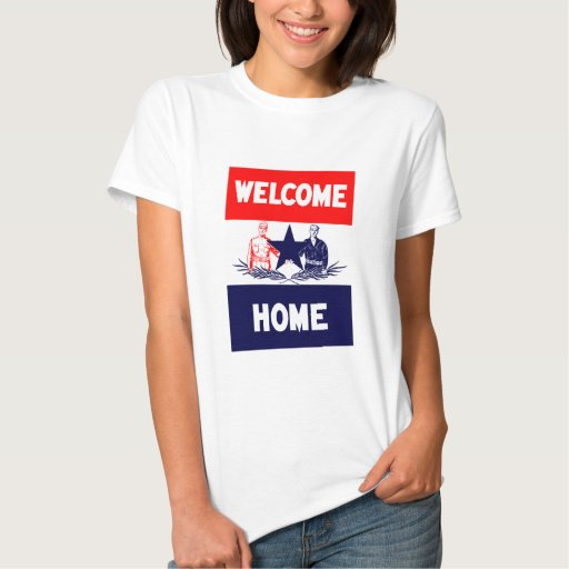 Welcome Home Military T-shirt