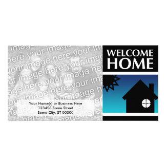 welcome home (mod sunset) card