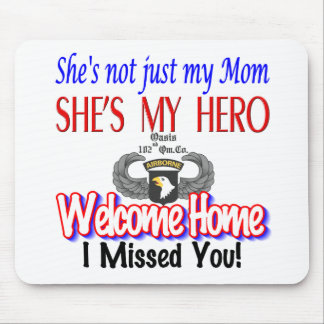 Welcome Home Mom Products Mouse Pad
