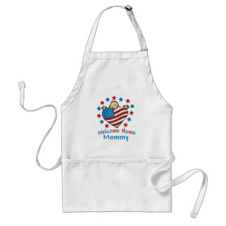 Welcome Home Mommy Baby Heart Apron