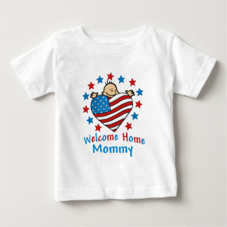 Welcome Home Mommy Baby Heart Baby T-Shirt