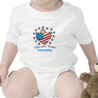 Welcome Home Mommy Baby Heart T Shirts